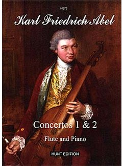Carl Friedrich Abel: Concertos 1 And 2 Op.6 Books | Flute, Piano Accompaniment