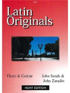 Latin Originals Flute And Guitar Books | Flute