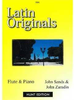 Latin Originals -  Flute & Piano Books | Flute, Piano Accompaniment
