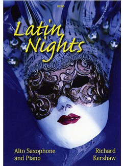 Richard Kershaw: Latin Nights (Alto Saxophone) Books | Alto Saxophone