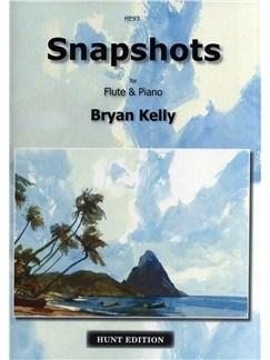 Bryan Kelly: Snapshots (Flute/Piano) Books | Flute, Piano Accompaniment