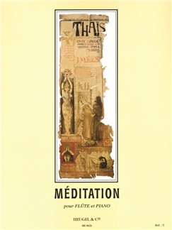 Jules Massenet: Méditation From Thaïs (Flute/Piano) (Taffanel) Books | Flute, Piano Accompaniment
