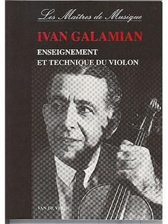 Ivan Galamian : Enseignement Et Technique Du Violon Livre | Violon