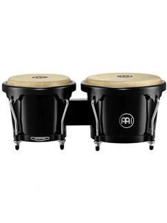 "Meinl: Headliner Series Fiberglass Bongos - 6.75""x8""/Black Instruments | Bongos"