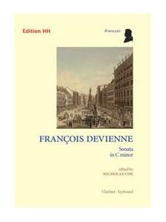 Francois Devienne: Sonata In C Minor Books | Clarinet, Piano Accompaniment