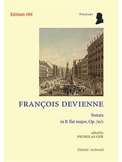 Francois Devienne: Sonata In B Flat Books | Clarinet, Piano Accompaniment