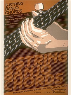 5-String Banjo Chord Chart Books | Banjo