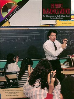 Jerry Perelman: The Perfect Harmonica Method (Harmonica) Books and CDs | Harmonica