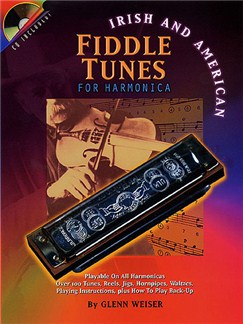 Irish and American Fiddle Tunes for Harmonica (Harmonica) Books and CDs | Harmonica