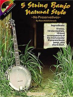 5 String Banjo Natural Style Books and CDs | Banjo