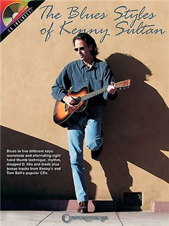 Blues Styles Of Kenny Sultan (Book/CD) Books and CDs | Guitar