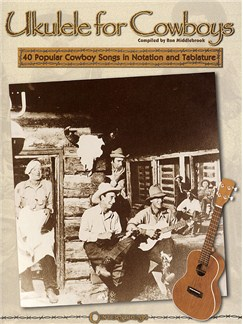 Ron Middlebrook: Ukulele For Cowboys Books | Ukulele
