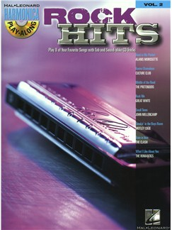 Harmonica Play-Along Volume 2: Rock Hits Books and CDs | Harmonica