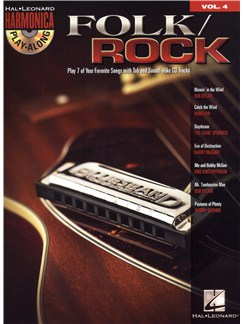 Harmonica Play-Along: Folk/Rock Books and CDs | Harmonica