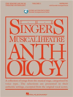 The Singer's Musical Theatre Anthology: Volume 1 (Soprano) (Book/Online Audio) Books and Digital Audio | Voice, Soprano