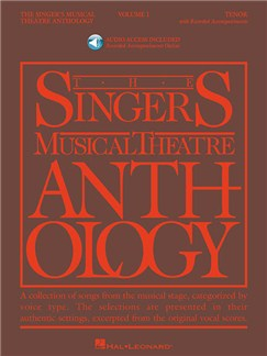 The Singer's Musical Theatre Anthology - Volume 1 (Tenor) (Book/Online Audio) Books and Digital Audio | Voice, Tenor