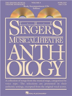 The Singer's Musical Theatre Anthology: Volume 3 (Soprano) - Book/Audio Bog og Digitale Audio | Sopran