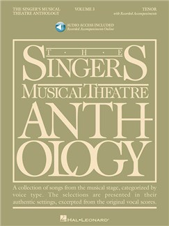 The Singer's Musical Theatre Anthology - Volume 3 (Tenor) (Book/Online Audio) Books and Digital Audio | Tenor