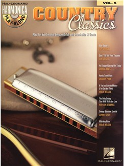 Harmonica Play-Along Volume 5: Country Classics Books and CDs | Harmonica