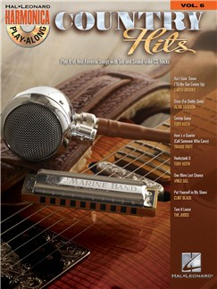 Harmonica Play-Along Volume 6: Country Hits Books and CDs | Harmonica