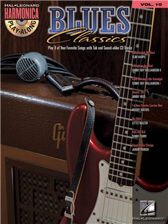Harmonica Play-Along Volume 10: Blues Classics Books and CDs | Harmonica