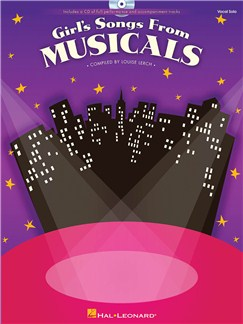 Girl's Songs From Musicals Bk/CD CD y Libro | Voz