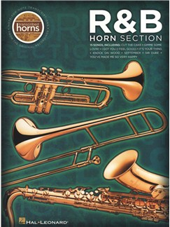 R&B Horn Section - Transcribed Horns Books | Tenor Saxophone, Baritone Saxophone, Trumpet, Trombone, Alto Saxophone (Acoustic)