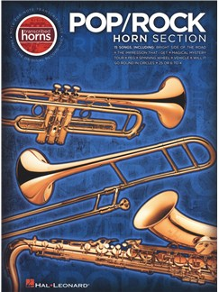 Pop/Rock Horn Section - Transcribed Horns Books | Saxophone, Trombone, Trumpet