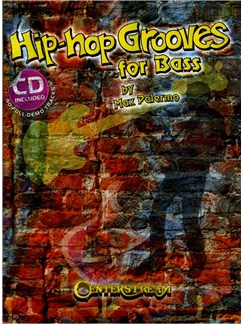 Max Palermo: Hip Hop Grooves For Bass (Book/CD) Books and CDs | Bass Guitar Tab
