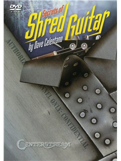 Dave Celentano: Secrets Of Shred Guitar (DVD) DVDs / Videos | Electric Guitar