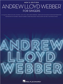 Andrew Lloyd Webber: For Singers - Men's Edition Books | Men's Voice