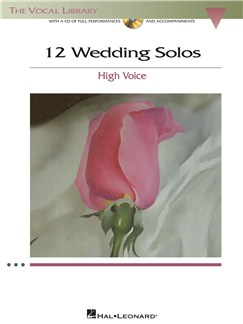 12 Wedding Solos - High Voice Books and CDs | High Voice, Piano Accompaniment