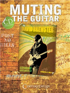 David Brewster: Muting The Guitar Books and CDs | Guitar Tab