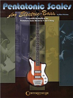Max Palermo: Pentatonic Scales For Electric Bass Books | Bass Guitar