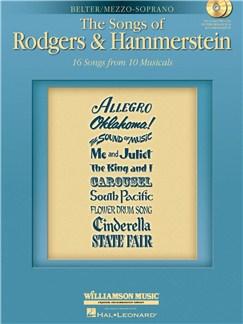 The Songs Of Rodgers And Hammerstein (Mezzo-Soprano Edition) Books and CDs | Mezzo-Soprano, Piano Accompaniment