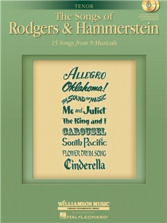 The Songs Of Rodgers And Hammerstein - Tenor Edition Books and CDs | Tenor, Piano Accompaniment