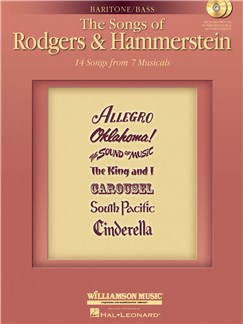 The Songs Of Rodgers And Hammerstein - Bass/Baritone Edition Books and CDs | Bass Voice, Baritone, Piano Accompaniment