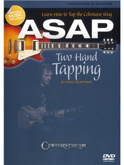Dave Celentano: ASAP Two Hand Tapping - Learn How To Tap The Celentano Way DVDs / Videos | Guitar