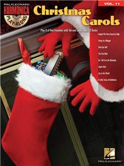 Harmonica Play-Along Volume 11: Christmas Carols Books and CDs | Harmonica, Voice