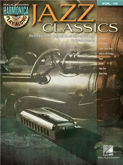 Harmonica Play-Along Volume 15: Jazz Classics Books | Harmonica