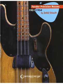 Detlef Schmidt: Fender Precision Basses Books | Bass Guitar
