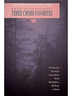EKM #060 - Easy 3-Chord Favorites Books   Keyboard