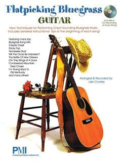 Professional Music Institute Flatpicking Bluegrass Guitar Gtr Bk/Cd Books and CDs | Acoustic Guitar