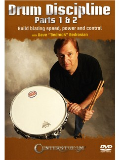 "Dave ""Bedrock"" Bedrosian: Drum Discipline Parts 1 & 2 - Build Blazing Speed, Power And Control DVDs / Videos 