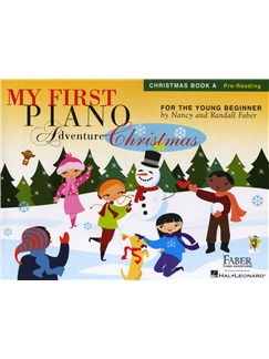 My First Piano Adventure - Christmas (Book A - Pre-Reading) Books | Piano, Piano Duet