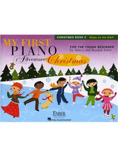 Nancy Faber/Randall Faber: My First Piano Adventure - Christmas (Book C - Skips On The Staff) Books | Piano