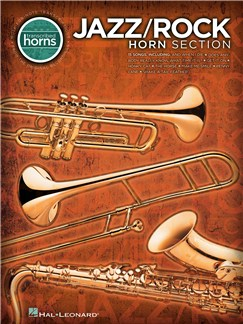 Jazz/Rock Horn Section - Transcribed Horns Books | Saxophone, Trumpet, Trombone