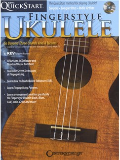 Kev's QuickStart: Fingerstyle Ukulele Books and CDs | Ukulele