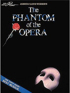 Phantom of the Opera Books | Piano
