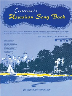 Criterion's Hawaiian Song Book Books | Ukulele, Voice, Piano Accompaniment, Guitar